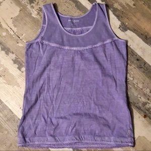 Women's woolrich lilac tank size small